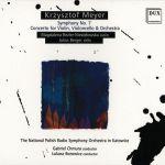 Krzysztof Meyer - Symfonia nr 7, Koncert na skrzypce, wiolonczelę i orkiestrę