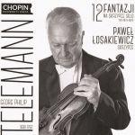 Paweł Łosakiewicz Georg -  Philip Telemann – 12 fantazji na skrzypce solo