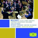 Mozart - Flute & Harp Concerto Sinfonia Concertante for Winds