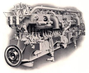 Wolseley 12 cylinder 360hp petrol or oil marine engine Rankin Kennedy Modern Engines Vol III