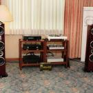 W zestawie z kolumnami Triangle Signature Delta grały: gramofon EAT E-Flat, elektronika Primare oraz EAT.