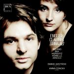 English clarinet sonatas