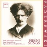 Paderewski - Pieśni