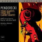 Penderecki - String Quartets. String Trio. Clarinet Quartet