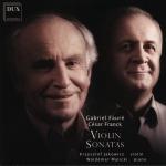 Fauré, Franck - Violin sonatas