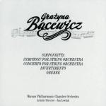 Grażyna Bacewicz - Simfonietta