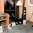 Duńskie monitory Raidho D-1 ze wzmacniaczem Jeffa Rowlanda były jednymi z najjaśniejszych gwiazd Audio Show 2014.