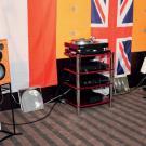 Kwintesencja brytyjskiego brzmienia: Naim plus monitory Graham Audio LS 5/9 na licencji BBC. To było jedno z pomieszczeń, do których chętnie się wracało.
