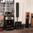 Łódzka manufaktura J.A.G. Electronics prezentowała własne wzmacniacze lampowe, DAC oraz kolumny. Firmowe brzmienie w najlepszym wydaniu.