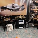 Łódzka Fonika zaprezentowała wszystkie trzy modele gramofonów obecne w ofercie. I, podobnie jak w zeszłym roku, wzbudzała niemałe emocje u zwiedzających.